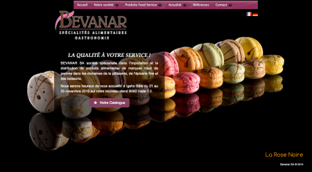 Preview site bevanar.ch